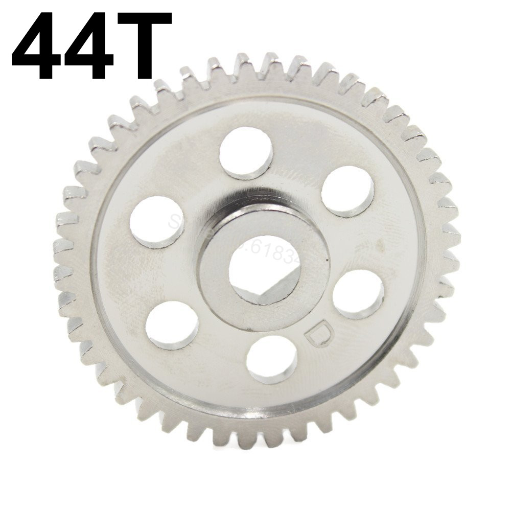 HSP 02040 Steel Metal 44T Spur Gear Fit 2 speed RC Nitro Car For Redcat Lightning STR 1/10 On Road