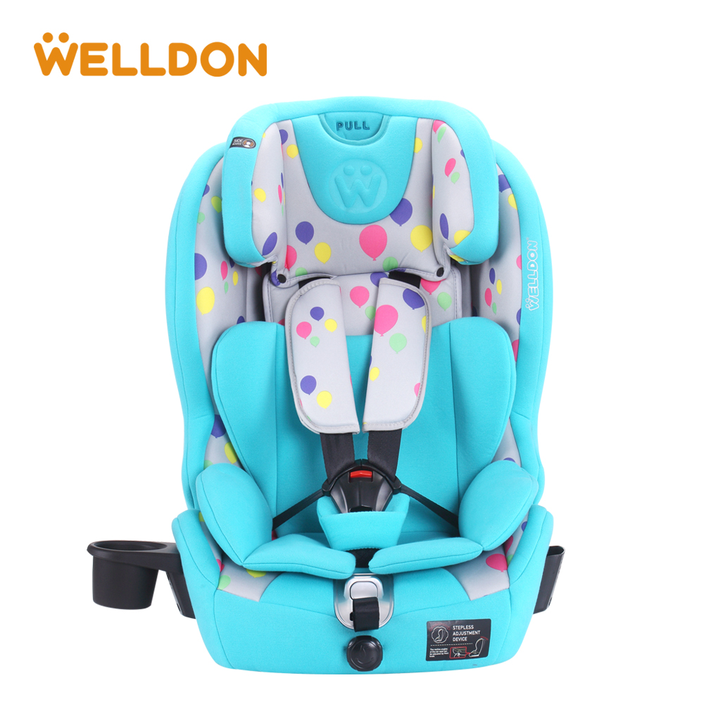 Welldon Child Car Safety Child safety seats 9 months to 12 years old baby car safety seat 3C ECE certification 3 color baby kid car seat child safety car seat children safety car seat for 9 months 12 year old 3c certification