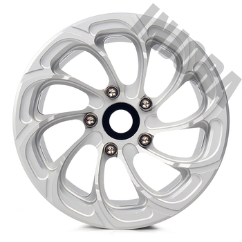 INJORA 4PCS Aluminum Alloy 2.2 Beadlock Wheel Rims for 1/10 RC Rock Crawler Axial SCX10 RR10 90053 90048 Wraith 90045 90018 2