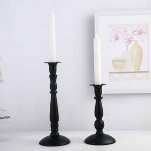 1pc Metal Candle Holder Vintage Candle Stand Iron Candlestick Candles Home Decoration Deco Mariage Table Candle Stick