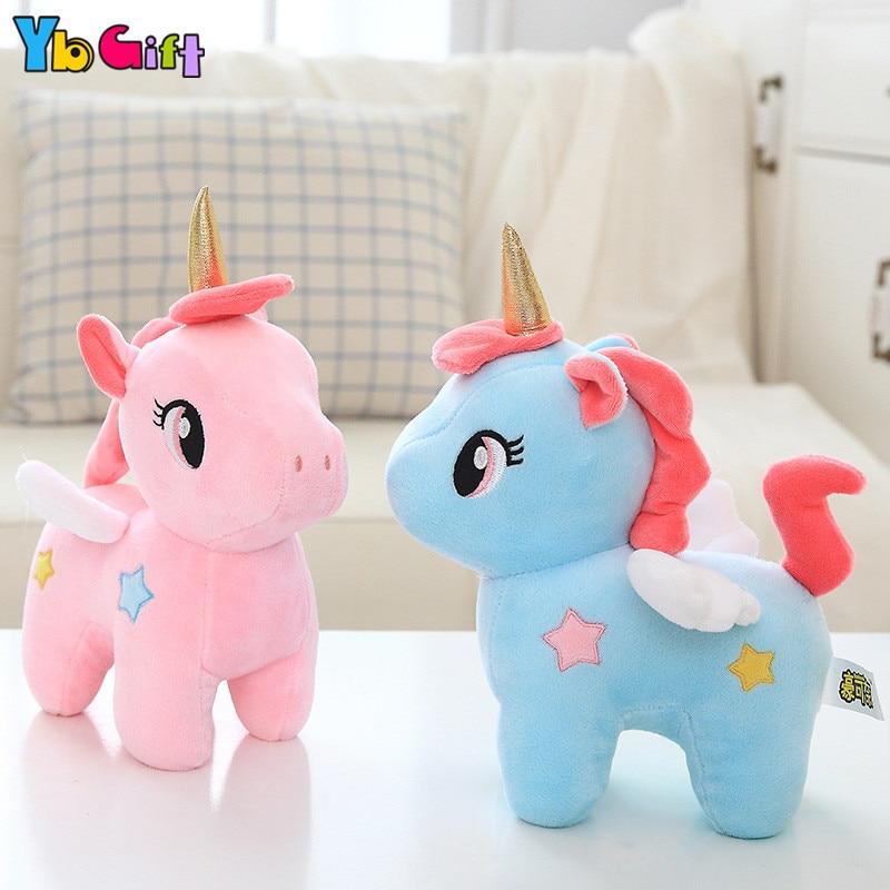 Yb Gift Unicorn Plush Toys Cute Unicornio Dolls Soft Plush Toy For Baby Kids Birthday Gifts Children Party Dolls Desk Deoration