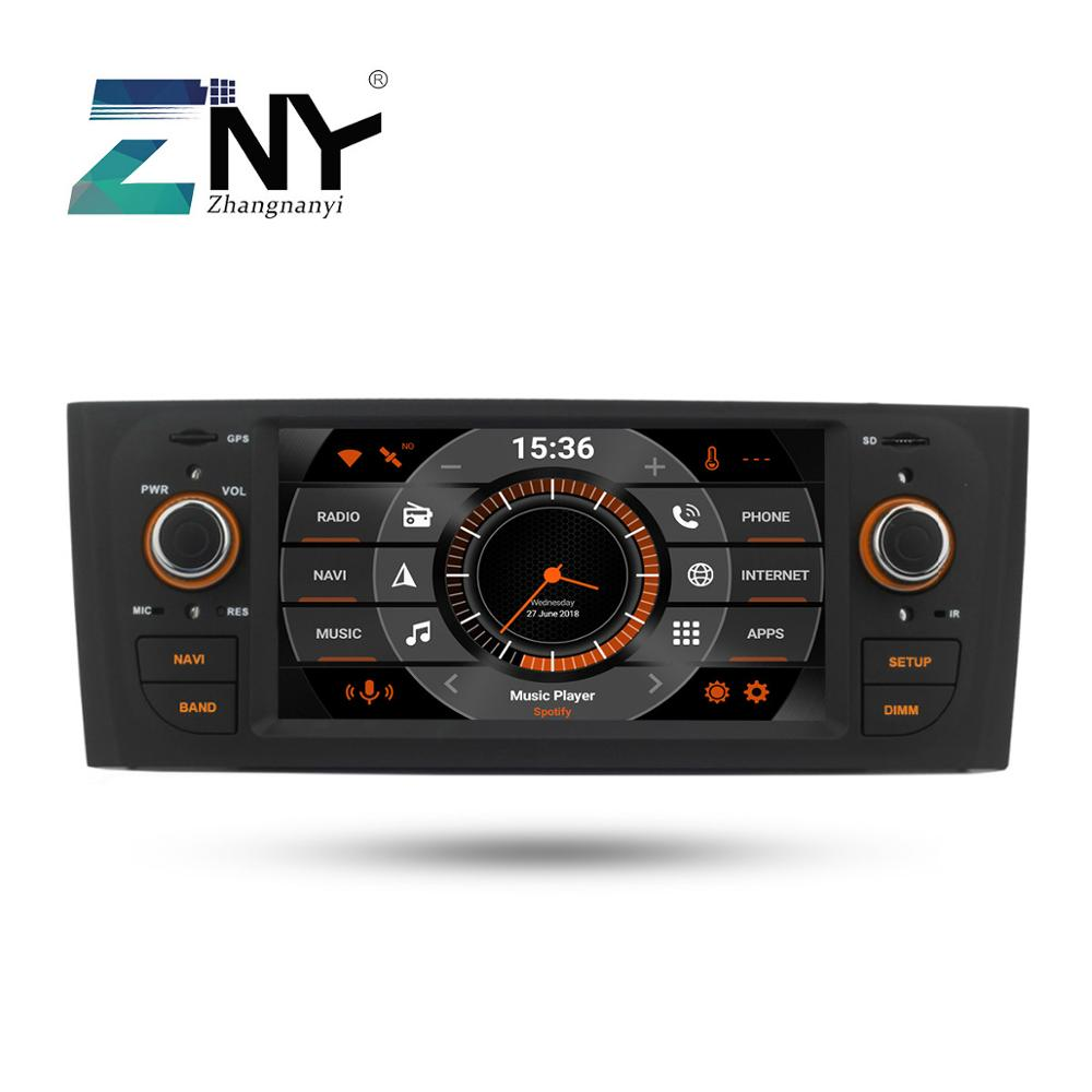 """6.2"""" Android 9.0 Car GPS Stereo For Fiat Grande Punto Linea 2007 2008 2009 2010 2011 2012 Auto Radio RDS WiFi Navigation No DVD-in Car Multimedia Player from Automobiles & Motorcycles"""