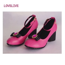 HOT NEW Anime Love Live LoveLive! Dancing Shoes Little Devil Awaken Series Women cosplay shoes