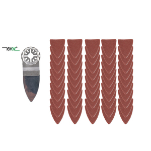 Image 3 - NEWONE Starlock hojas de sierra para pulir dedos y juegos de papel de lija, aptas para herramientas eléctricas oscilantes para pulir madera Metal cerámica más