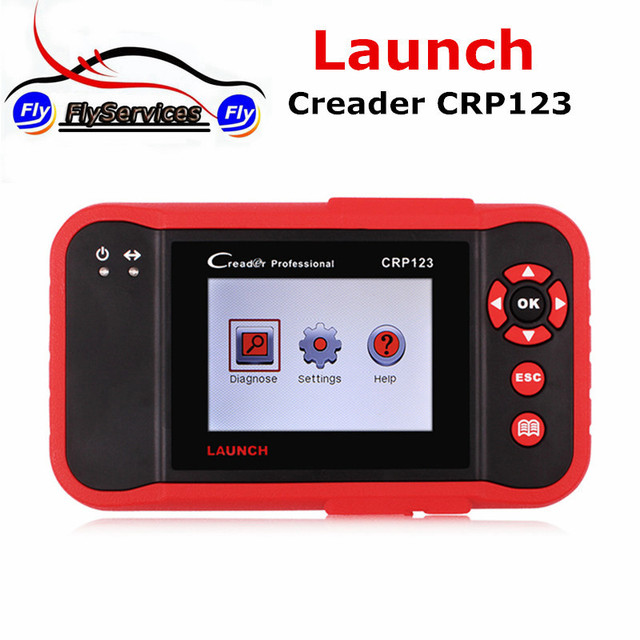 Special Price New Arrival Launch X431 CReader CRP123 Dignostic Tool Launch CRP 123 Support ABS SRS Transmission and Engine Update Online