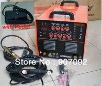 Высокое качество JASIC WSE 200P TIG200P AC/DC TIG/MMA меандр инвертор сварщик 220 240 В с ног Управление педаль 2 + 3 Контакты