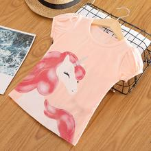Unicorn T-shirts Baby Girl Kids