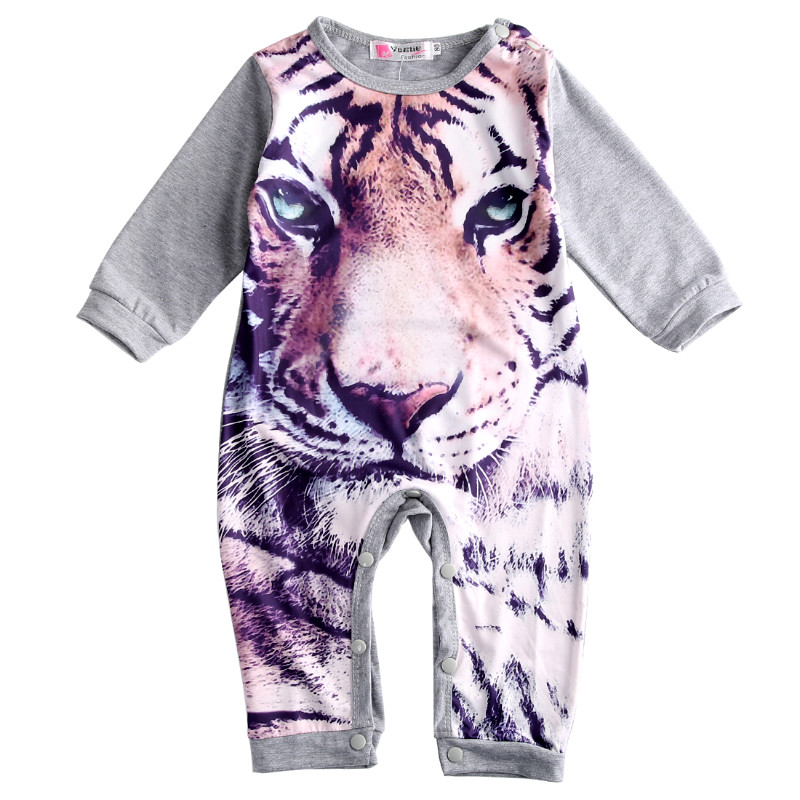 Baby Boy Girl Autumn Winter Clothes Child Clothing Baby Long Sleeve Rompers Toddler Girl Cartoon Panda Tiger Kids Baby Rompers newborn baby boy rompers autumn winter rabbit long sleeve boy clothes jumpsuits baby girl romper toddler overalls clothing