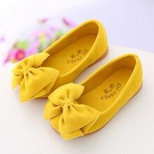 AFDSWG, zapatos para niñas pequeñas, zapatos de baile de moda con lazo para niños, zapatos de cuero amarillo de tacón bajo para niñas, zapatos de vino rojo, zapatos de cuero para niños