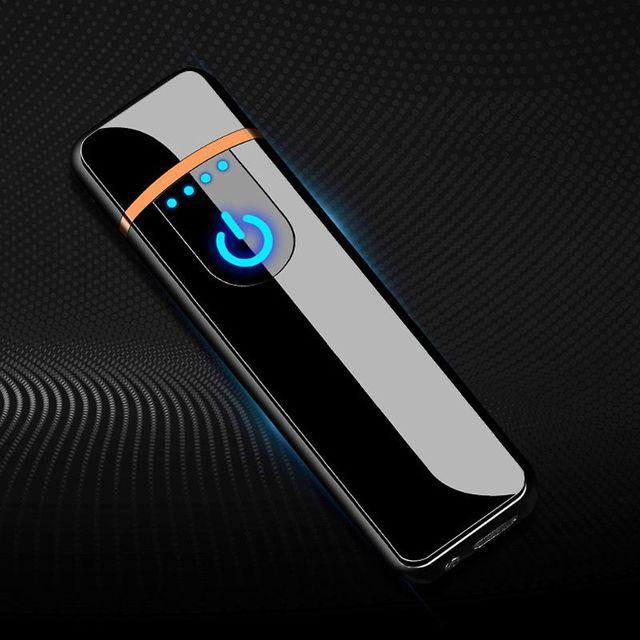 Mini USB di Ricarica Sensor Touch Screen Elettronico di Tungsteno Sigaretta Più