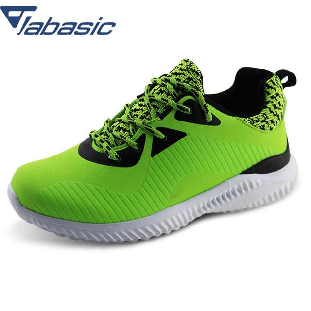 JABASIC Boys Shoes 2018 Brand Racing Style Breathable Lace-up PU Fly Kint  Casual Sneaker Boys Sport Shoe Sapato Infantil Menina 21afef7486ac