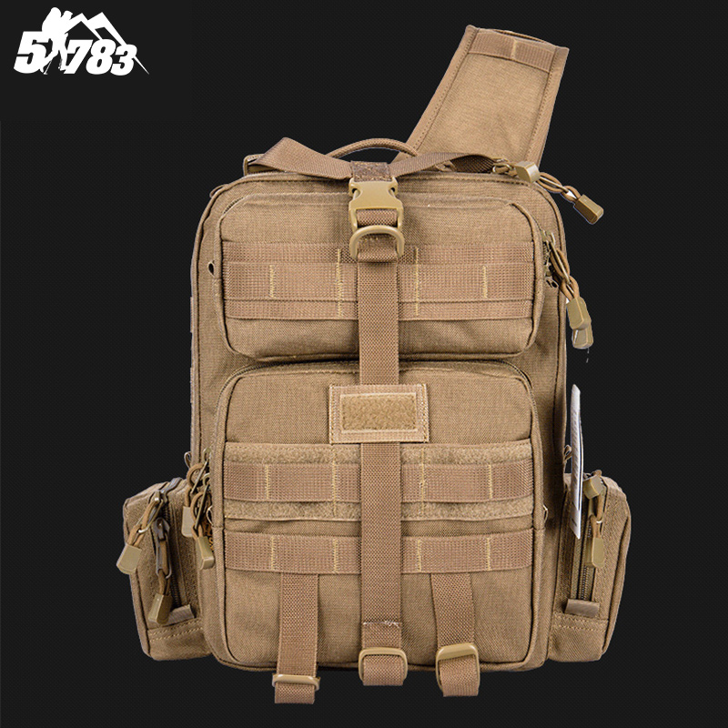 51783 font b Tactical b font font b Backpack b font Men 1000D Waterproof 3 Sling