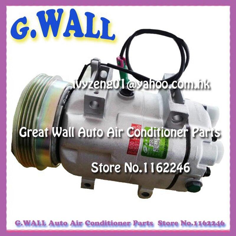 Zexel DCW17 VW Passat diesel compresor de CA para coche Audi A4 A6 8D0260805D 8D0260805M 8D0260805 506031-03818D0 260, 805 D