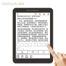 "Boyue likebook plus/Paper ebook reader 7.8"" touch screen 300ppi 1G/16GB online reading 2800mAh wifi bluethoth e-book ereader(China)"