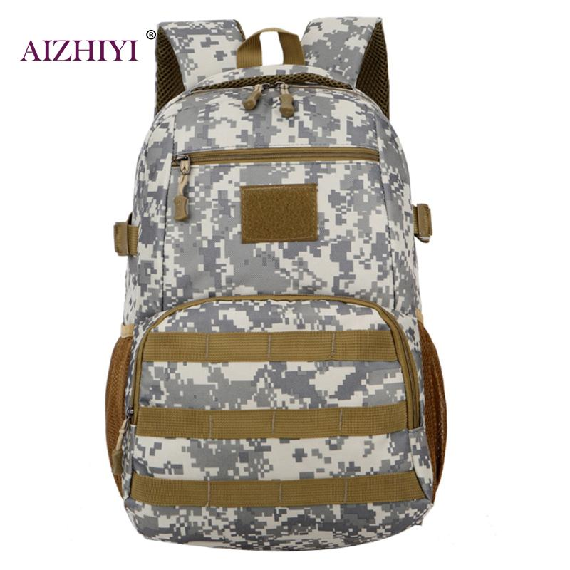 Camo Backpack Waterproof Large Capacity Camouflage Backpack Military Army Mochila Tourist Rucksack Multifunction Bag for Boy ...