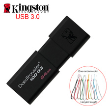 Kingston Usb Flash Drive USB3.zero pendrive 64gb usb Stick Flash Reminiscence Excessive Pace U Disk Drive cle usb Three.zero Memoria 64GB Pen Drive