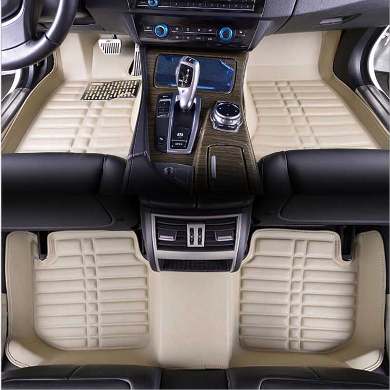 Car Floor Mats FloorLiner For Hyundai Tucson 2006 2019 Auto Waterproof Front & Rear carpet Mat Custom Made 3D carpet