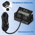 Универсальный IP65 Водонепроницаемый 3/8 inchLCD Дисплей Цифровой Тахометр Счетчика для Мотоциклов/Лодочные Моторы