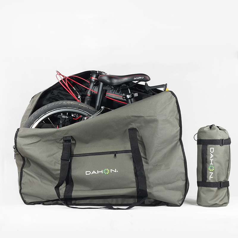 Sale Rhinowalk 14 inch 20 inch Folding Bike Bag Loading Vehicle Carrying Bag Pouch Packed Car Thickened Portable Bicycle Pack 5