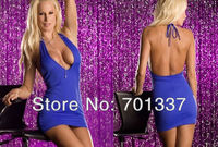 Sexy lingerie Blue Night Dress BabyDoll One Size M007