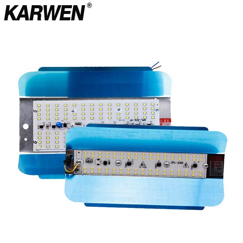 KARWEN LED LODINE TUNGSTEN 50W 100W Floodlight Flood Light 220V Newest LED Spotlight Refletor LED Outdoor Lighting Gargen Lamp