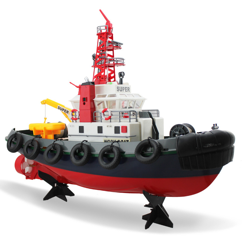 Educational-toys-remote-control-fire-boat-3810-60cm-large-rc-boats-Outdoor-play-sprinkler-water-jet