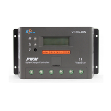 1pc x 30A View Star VS3024BN 12V 24V Auto EP PWM Solar system Kit Controller LCD Display