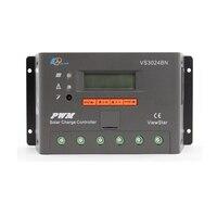 1pc x 30A View Star VS3024BN 12V 24V Auto EP PWM Solar system Kit Controller LCD Display