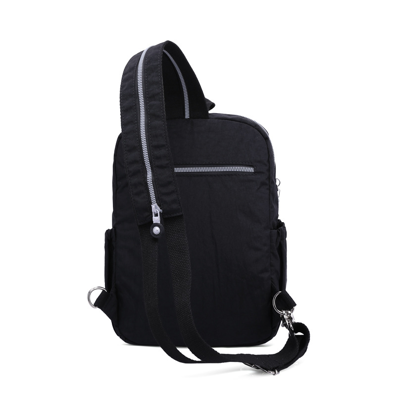 Fashion casual single shoulder and shoulders convertible nylon waterproof shoulder pack multifunctional slant span in Backpacks from Luggage Bags