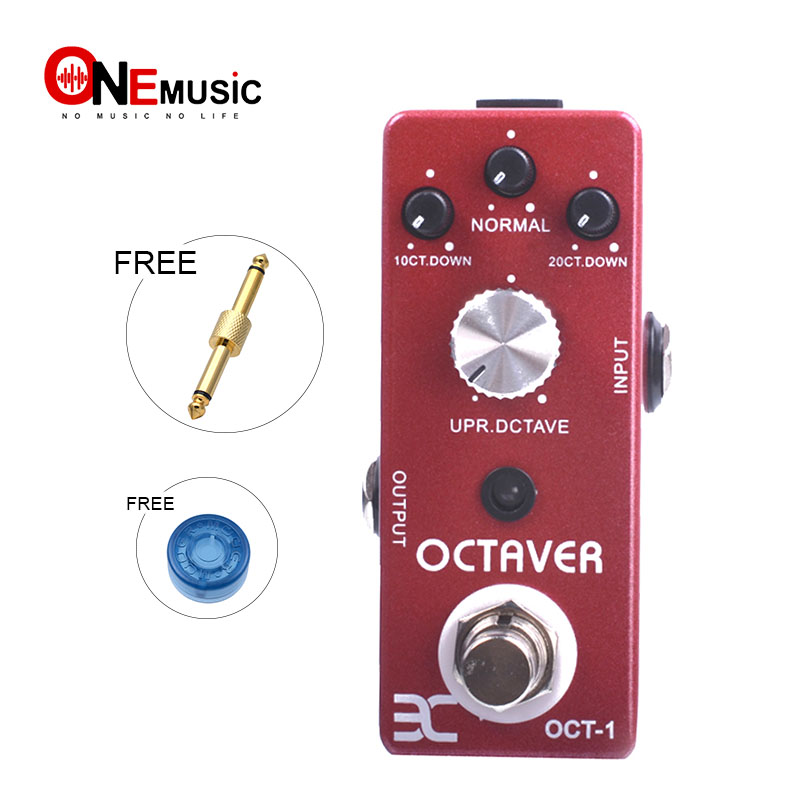 EX T CUBE SERIES PEDALS Octaver TC 01 OCT 1 Full metal shell Free Connector