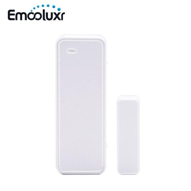 Sensor de apertura de puerta inteligente bidireccional, 10 unids/lote, contacto magnético para aplicación, sistemas de alarma, wifi, G90B plus