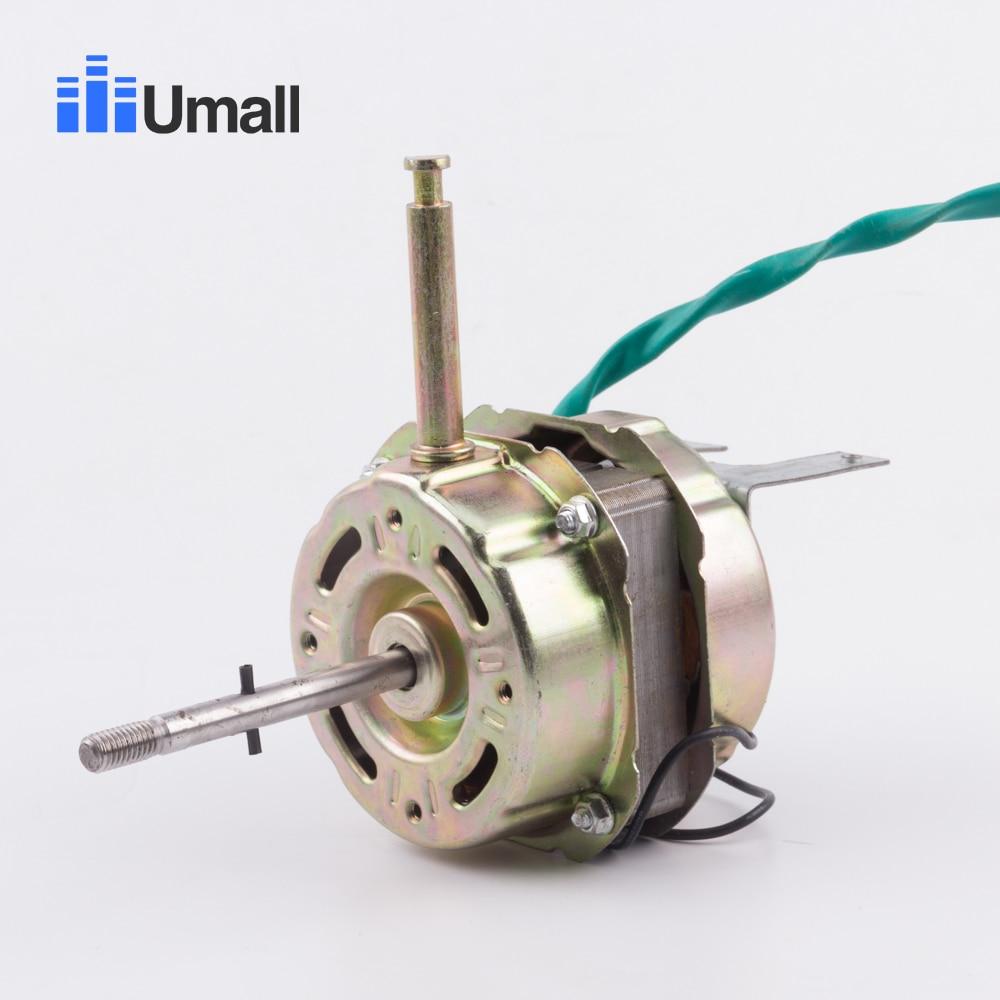 general electric remote fan motor three block double ball bearing copper fan motor 220v 50hz  60w