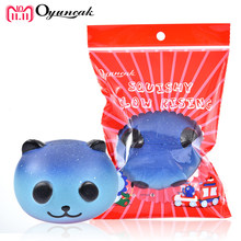 Oyuncak Squishy Slow Rising Antistress Toys Fun Panda Squishe Novelty & Gag Toys Stress Relief Gadget Squeeze Phone Charm Gifts(China)