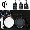 Qi carregador sem fio ou com receiver para xiaomi redmi 3/3 s/nota 4/pro/yotaphone 2/sony xperia xa/z5/compact/m4 aqua/doogee x5/t6