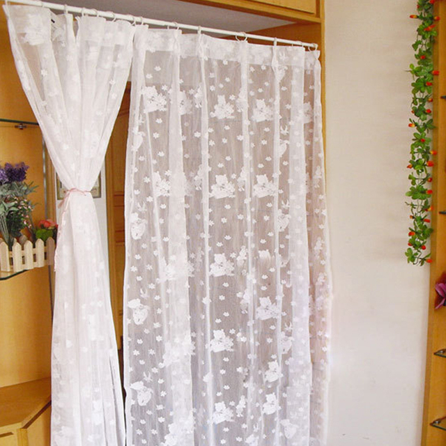 1PC Adjustable Spring Loaded Bathroom Shower Curtain Rod Tension ...
