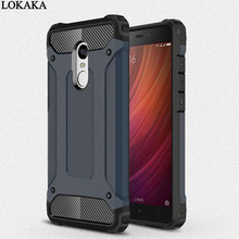 LOKAKA Armor Case For Xiaomi Redmi 5 Plus 5Plus Hard PC Plating 2 in 1 Full Cover Cases For Xiaomi Redmi 5 redmi5 Phone Bags