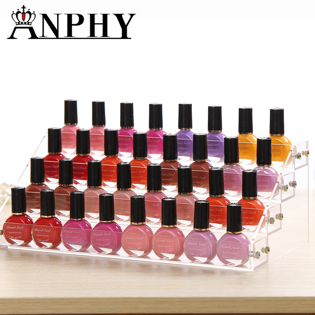 Fashion Detachable 3 Tier Acrylic Organizer Lipstick Display Stand ...