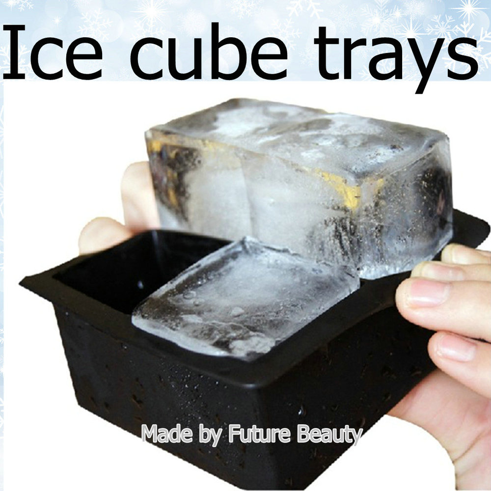 how to make ice cubes for a cake
