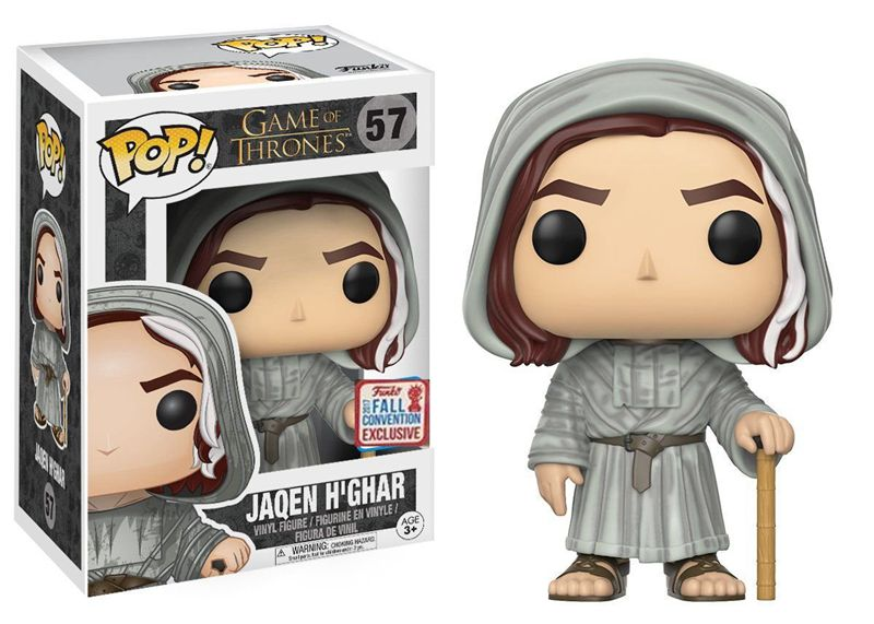 2017 NYCC Exclusive Funko pop Official Game of Thrones - Jaqen H'ghar Vinyl Action Figure Collectible Model Toy In Stock limited edition original funko pop dc universe green lantern the arrow vinyl figure collectible model toy with original box