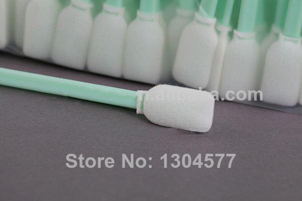 Factory Supply - 200 pcs Foam head clean swab for Epson DX4 DX5 Print head cleaning