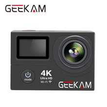 Original GEEKAM H3 Action Camera 170D Len Ultra HD 4K WIFI 1080P 60FPS 30M Go Waterproof Pro Hero 4 Style Video Camera Photo Cam