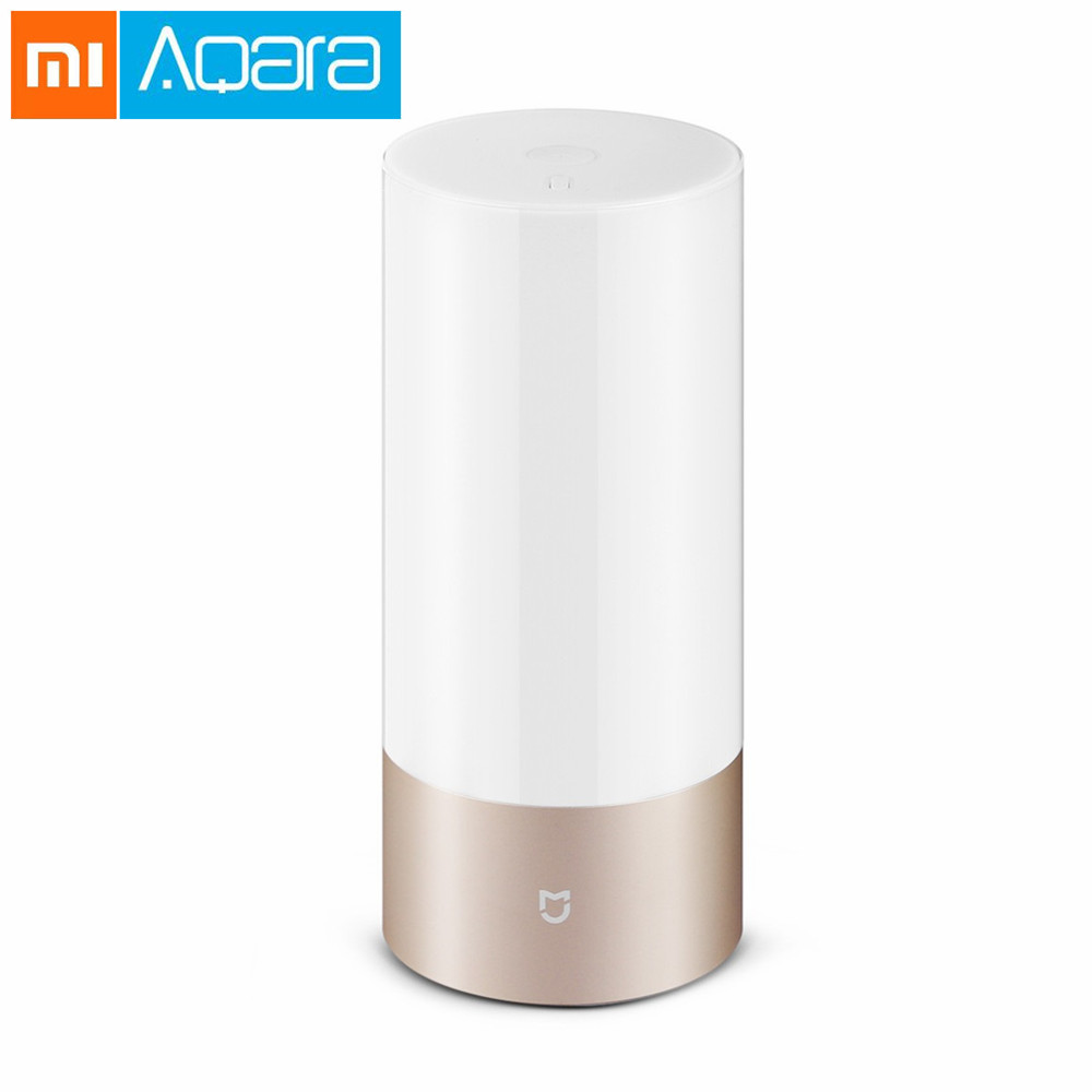 Original Anglais Xiaomi Mijia lumière led Puce Intérieure Night Light lampe de chevet Tactile Contrôle application intelligente télécommande