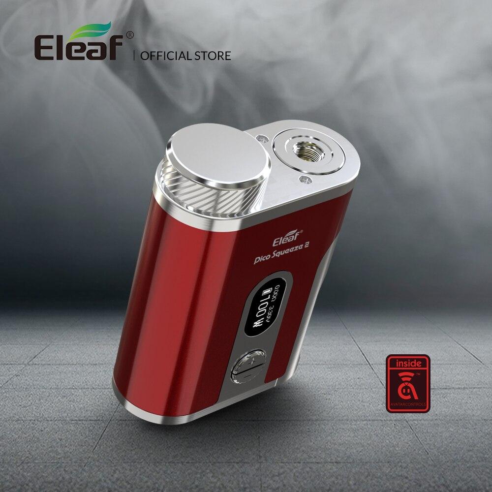 Original Eleaf Pico exprimidor 2 mod 100 W con 8 ml e-liquid botella caja mod cigarrillo electrónico mod caja - 2