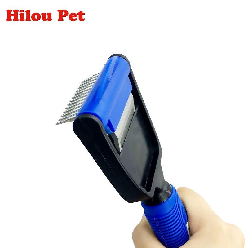 Multi-purpose Pet Peigne Chien Hair Remover Brosse Toilettage Outils Peigne Cheveux Pour Pet Supply Furminators