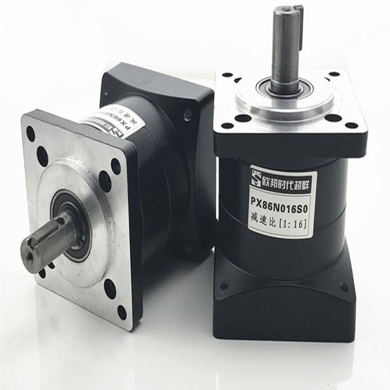 PX86 planetary reducer, 86 step motor, two stage 1:10/16/20/24/30/36, European country, era superior