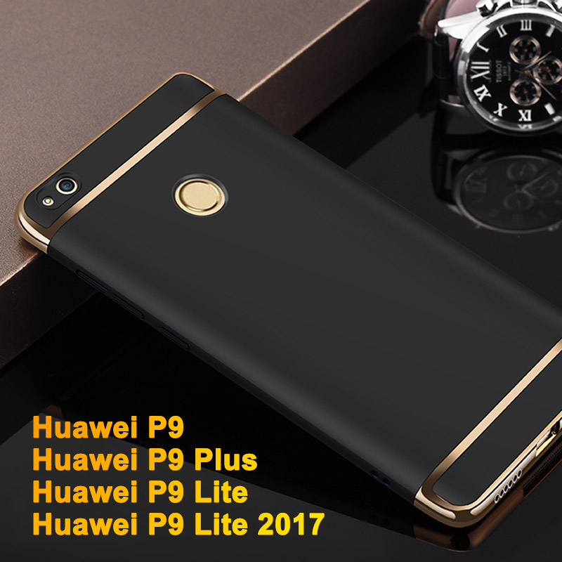 economico per lo sconto 8991b f5ec6 US $3.73 25% OFF|Huawei P9 Lite 2017 Cover Plastic Case Luxury Huawei P9  Lite Phone Case For Huawei P9 Plus P9 Protection Shell Back Case Cover-in  ...