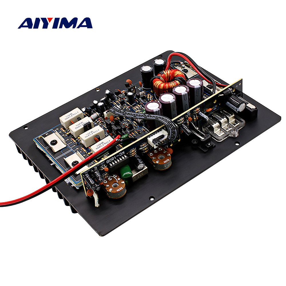 AIYIMA Power Subwoofer Amplifiers Audio Board 1200W Amplificador DIY For Bass Speaker Car Audio System Home