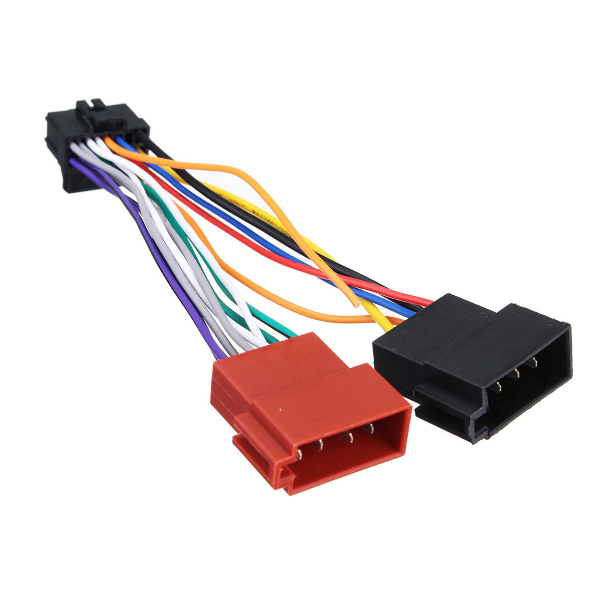 medium resolution of  car stereo radio iso wiring harness connector 16 pin pi100 for pioneer 2003 on