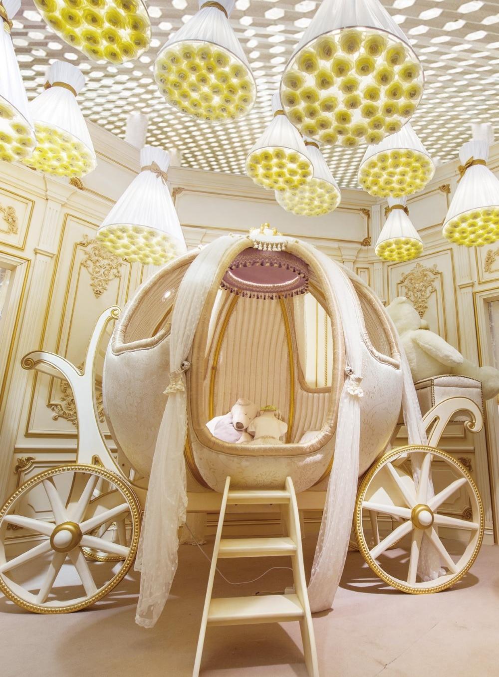 Crib for sale in pampanga - Baby Cribs Germany Aliexpress Com Buy European Luxury Fairy Tale Style Pumpkin Shape Crib Kids