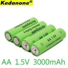 4~ 20 шт/2 Лот бренд AA перезаряжаемая батарея 3000mah 1,5 V Новая Щелочная перезаряжаемая батарея для Светодиодный светильник mp3